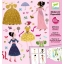 Paper dolls - Dresses through the seasons