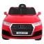 Elektriauto Audi Q7 Punane