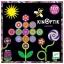 Magneetiline mäng Lilled ja Aed, 107 osa Kinoptik