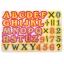 Двухсторонний мольберт с буквами и цифрами / Доска для рисования 3 в 1 напольная