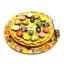 Деревянная развивающая игрушка Пицца (54 элемента,5 слоёв)