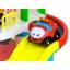 Парковка-гараж для малышей с машинками и вертолётом