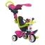 SMOBY трехколесный велосипед, розовый