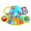 Musical piano elephant colorful toy