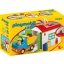 PLAYMOBIL 1.2.3.  Truck with Sorting Garage