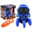 Dancing ROBOT Bot Pioneer RC Puldiga Interaktiivne mänguasi Tantsiv Robot