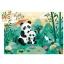 Silhouette puzzles - Panda 24osa